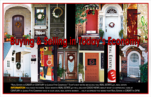 Postcard Design for Real Estate 411 Program for Realtor Direct Mail Campaign