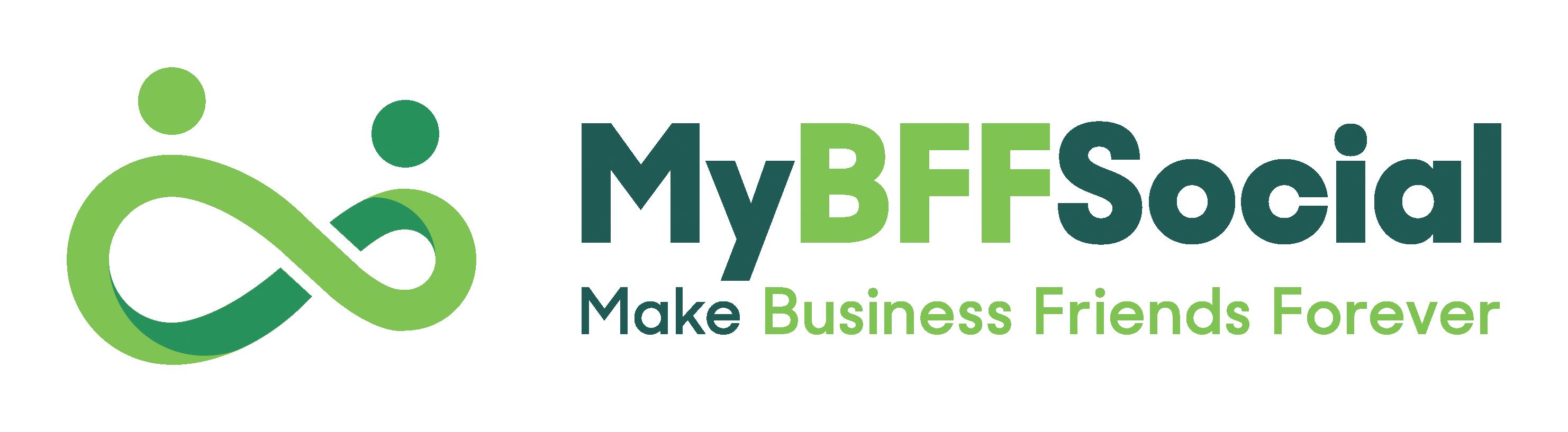 mybff social logo