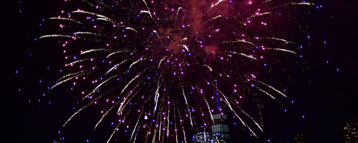 fireworks by sandy hibbard