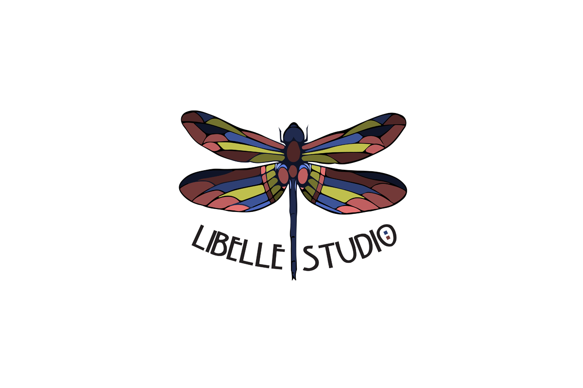 libelle studio salt lake city logo design by sandy hibbard creative