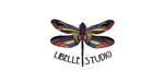 logo libelle studio salt lake city by sandy hibbard creative