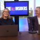 sandy hibbard and marc miller on the set of the insiders on real estate and marketing