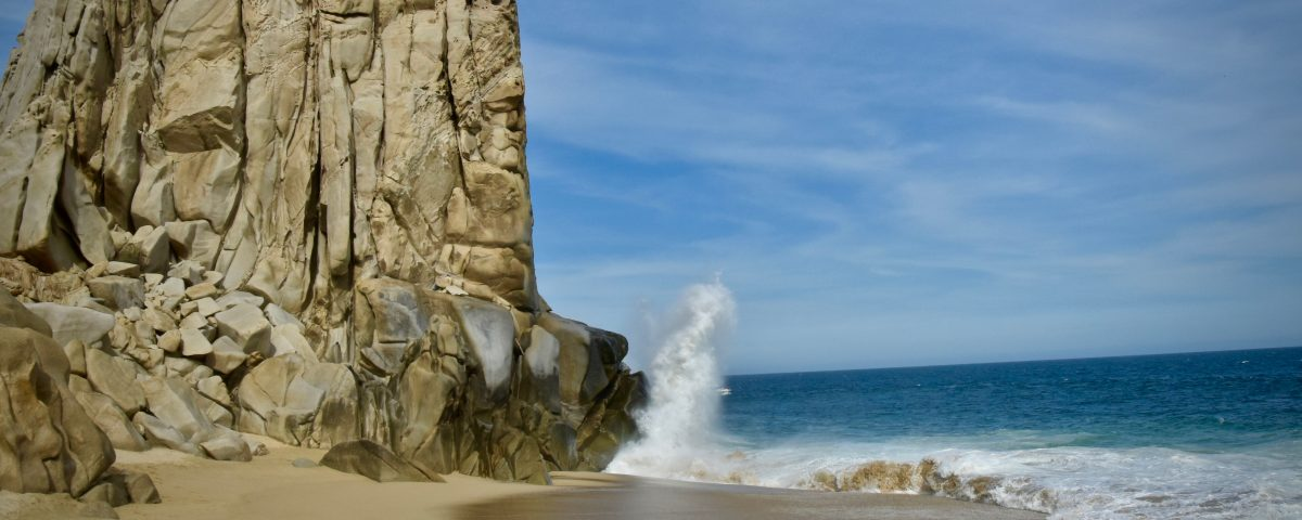 cabo san lucas rock and waves