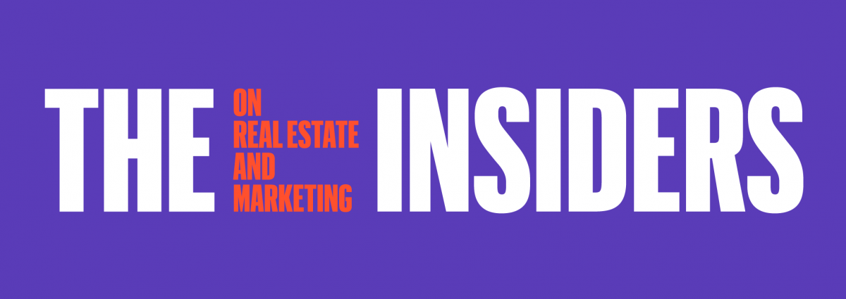 insiders on real estate and marketing logo
