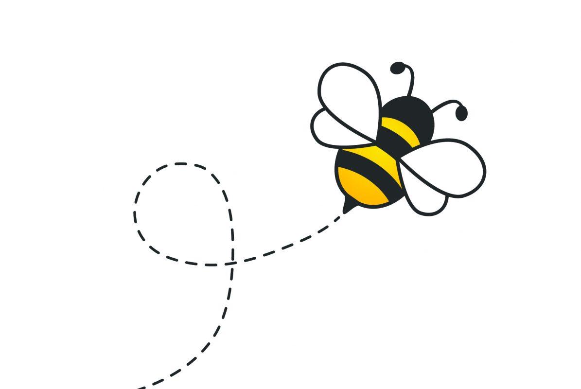 Bumble Bee buzzin around causing a buzz