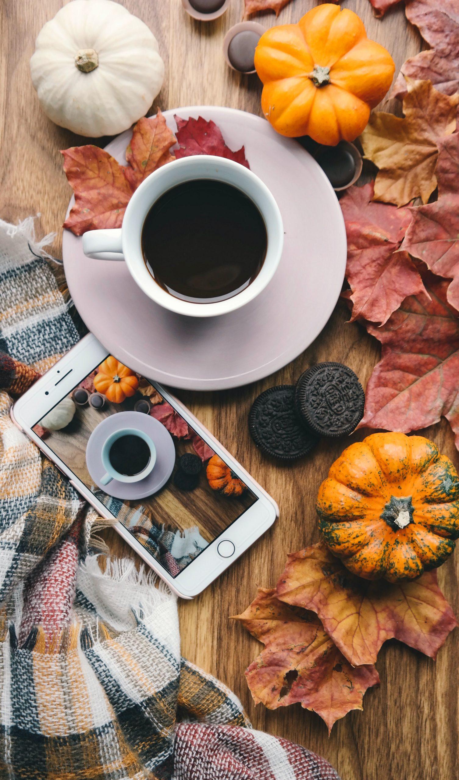 20 ideas for 4th quarter marketing fall pumpkins and hot coffee